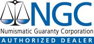 Authorized Dealer, Numismatic Guaranty Corporation