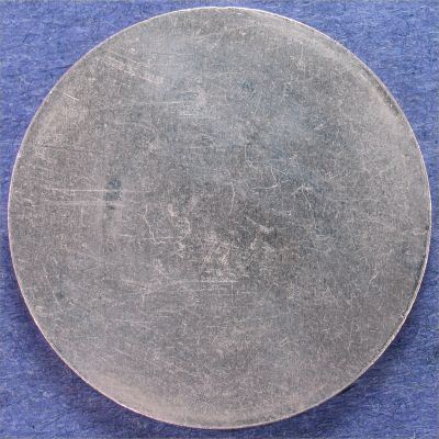 Blank Planchet Eisenhower Silver Dollar Type 1 Error