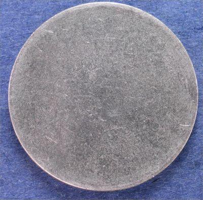 Blank Planchet Eisenhower Silver Dollar Type 2 Error