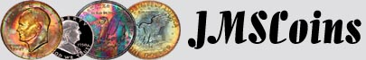 JMSCoins: Specializing in Ike Dollars, Beautiful Toned Coins, PCGS and NGC Registry Coins, and More!